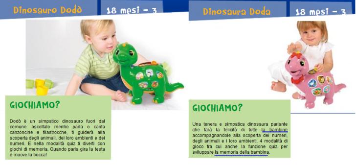 clem centro attività dinosauri