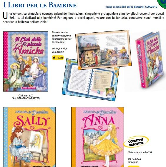 libri per le bambine