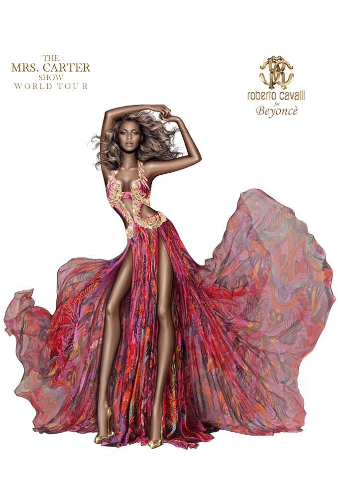 Beyoncé Roberto Cavalli