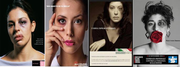 Telefono Rosa; Una delle opere finaliste della campagna di informazione europea promossa da UNRIC, organismo delle Nazioni Unite; Consiglio dei Ministri; Segreteriato italiano degli studenti di Medicina