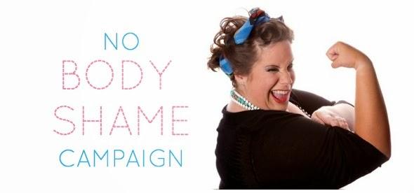 #nobodyshamecampaign Campagna lanciata da Whitney, la ragazza del video
