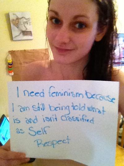 need feminism