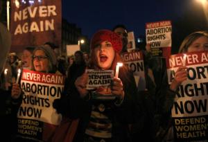 Proteste morte di Savita Foto Getty